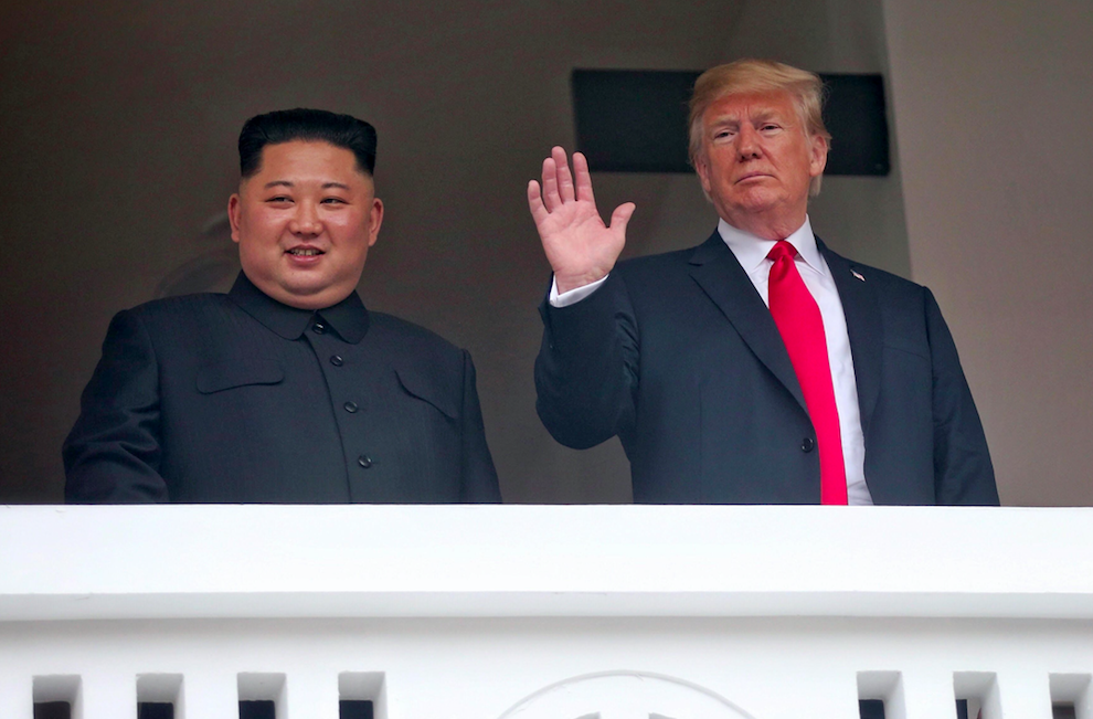 Donald Trump wants his 'people' to be like Kim's 'people'
