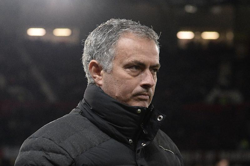 Manchester United's Portuguese manager Jose Mourinho arrives for Manchester United's match against Feyenoord at Old Trafford stadium in Manchester, north-west England, on November 24, 2016