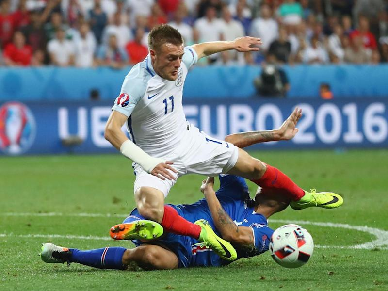 Vardy was one of the few England players to emerge from Euro 2016 with credit (Getty)
