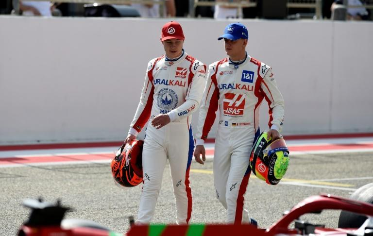 Haas have a rookie pairing in 2021 with Mick Schumacher (left) teaming up with Nikita Mazepin (right)