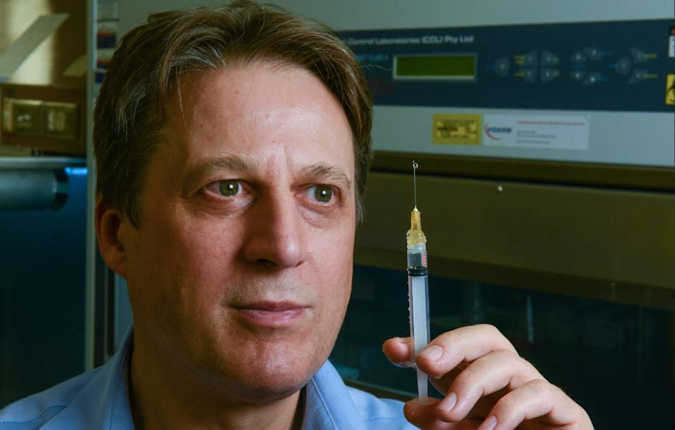 Professor Nikolai Petrovsky of the College of Medicine and Public Health, Flinders University. Source: Supplied