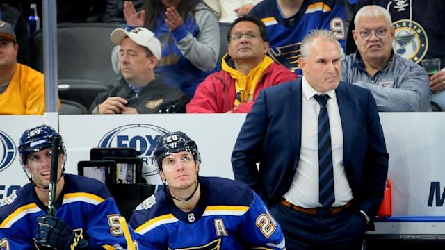 With Blues in a scoring funk, Berube overhauls all four lines