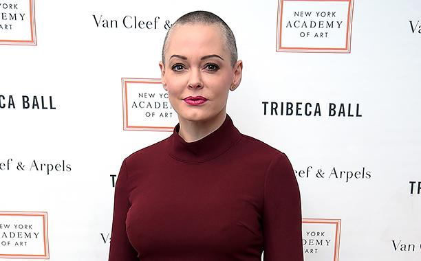 Rose McGowan tweets she was raped by a top Hollywood executive