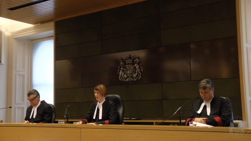 Chief Justice Anne Ferguson delivers the verdict. Source: SCV