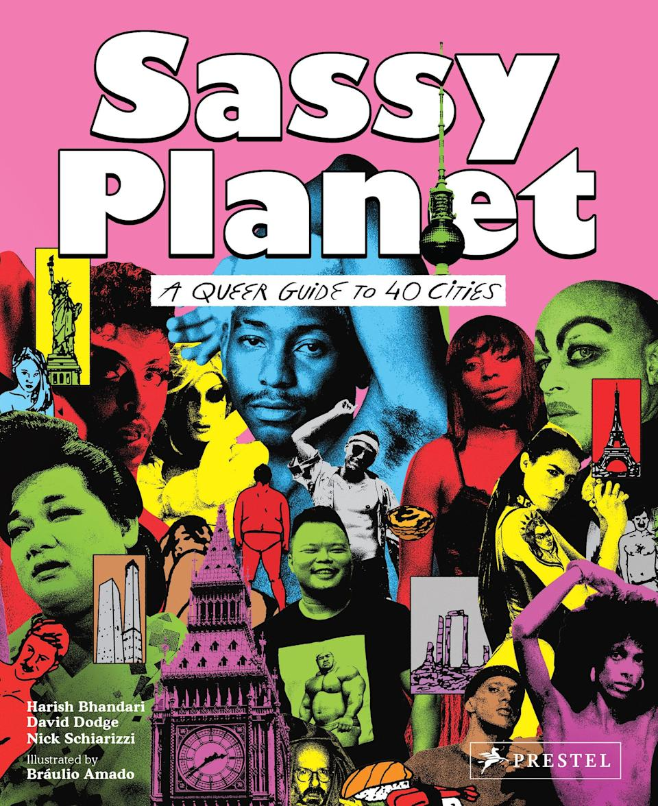 The cover of Sassy Planet: A Queer Guide to 40 Cities, Big and Small