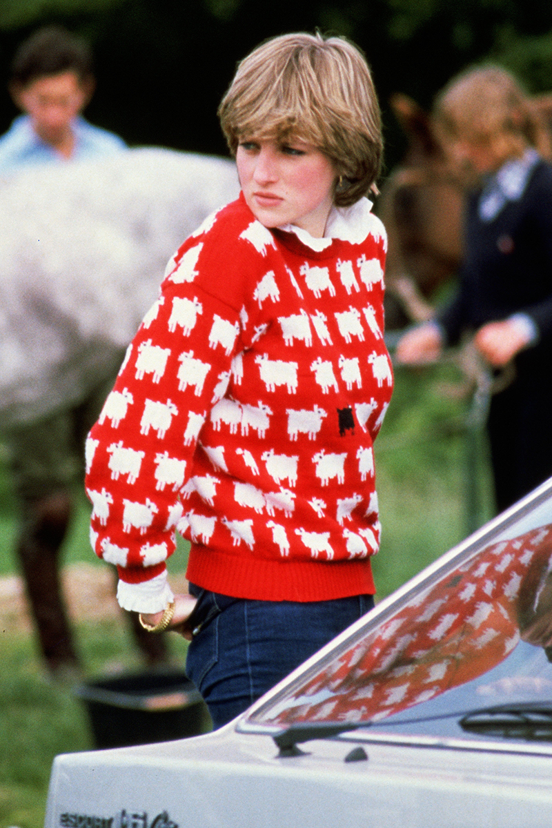 "<p>Of course, no wrap-up of Diana's pre-royal style would be complete without a nod to her <a href=""https://www.cosmopolitan.com/uk/fashion/celebrity/g31956862/princess-diana-best-casual-outfits/"" rel=""nofollow noopener"" target=""_blank"" data-ylk=""slk:iconic sheep jumper"" class=""link rapid-noclick-resp"">iconic sheep jumper</a>, worn with a pair of jeans to watch Prince Charles at the polo. In fact, this jumper's become so famous, UK brand <a href=""https://rowingblazers.com/products/sheep-sweater-womens"" rel=""nofollow noopener"" target=""_blank"" data-ylk=""slk:Rowing Blazers"" class=""link rapid-noclick-resp"">Rowing Blazers</a> brought it back last year along with the Princess' famous 'I'm a luxury' knit.</p>"