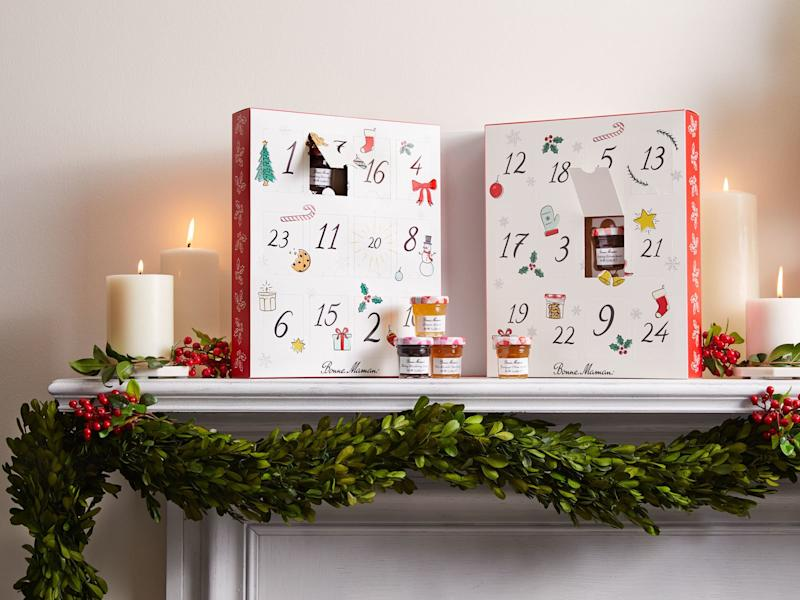 All of the Jam and Honey in Bonne Maman's 2019 Advent Calendar
