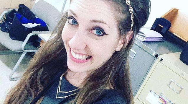 Mary Beth Haglin, 24, Cedar Rapids, Iowa, says school authorites could have stopped her sexual relationship with a teenager boy. Photo: Facebook