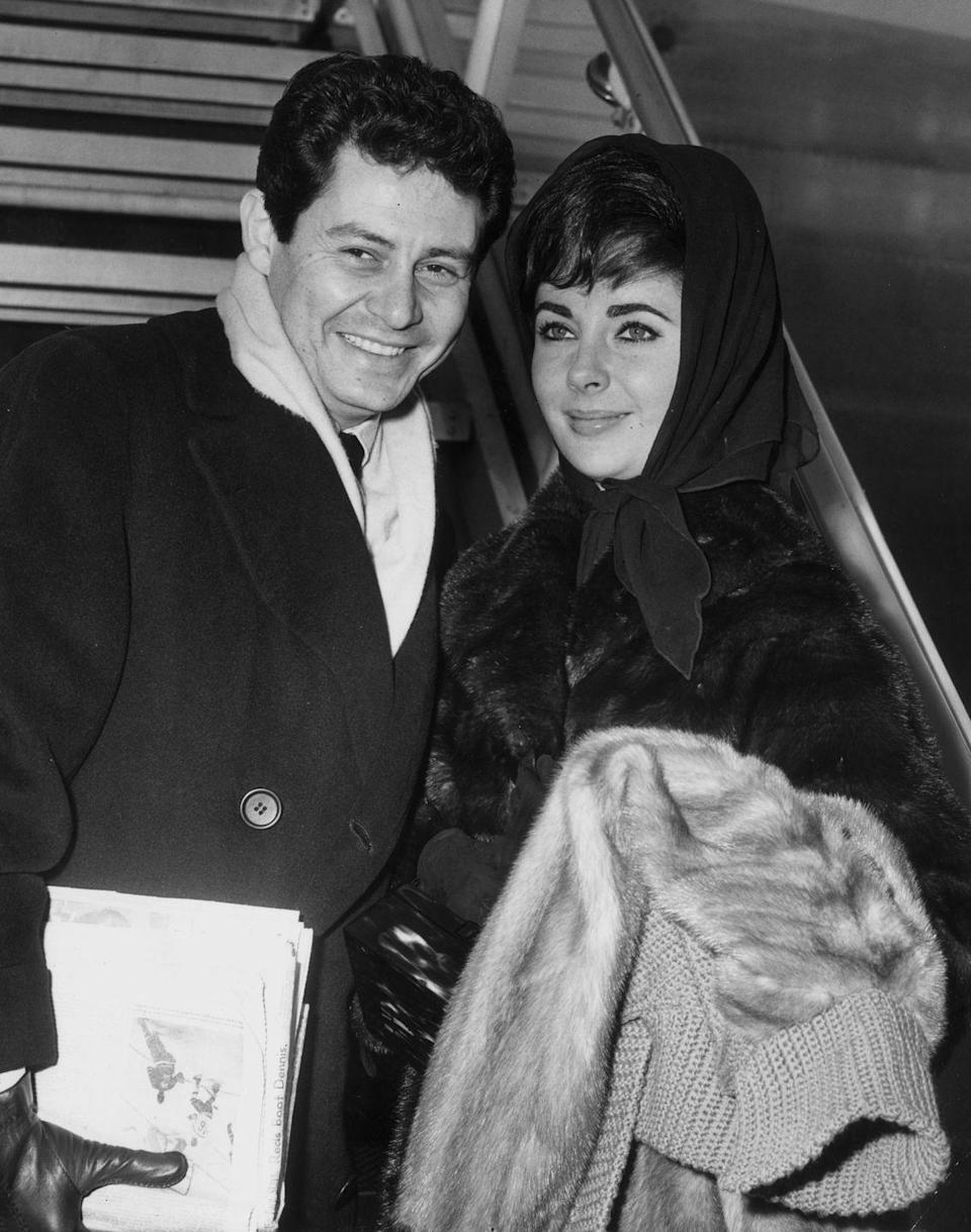 <p>In the 1950s, Fisher and Taylor had one of the most scandalous affairs in Hollywood history. He was married to Debbie Reynolds at the time, and divorced her for Taylor. </p>