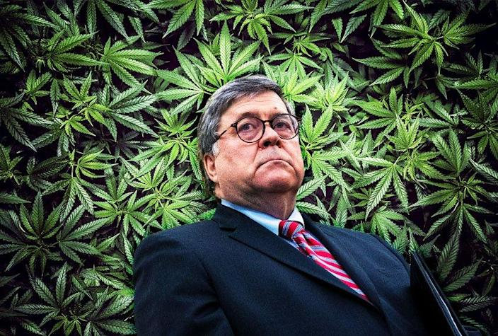 Bill Barr; Marijuana