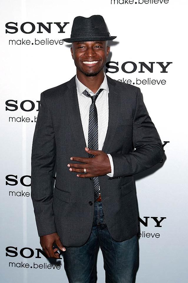 """January 2: Taye Diggs turns 40 Dario Cantatore/<a href=""""http://www.wireimage.com"""" target=""""new"""">WireImage.com</a> - October 12, 2010"""