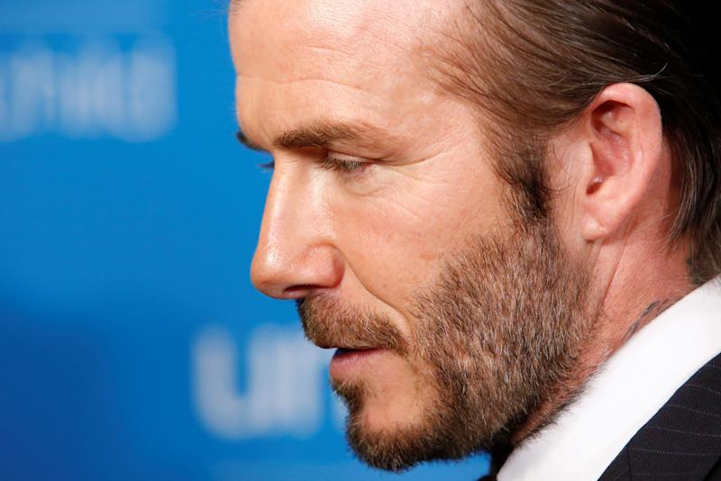 <strong>David Beckham</strong> (Photo: Andrew Kelly / Reuters)