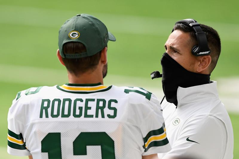 Matt LaFleur's plan for Aaron Rodgers, Packers looks just right