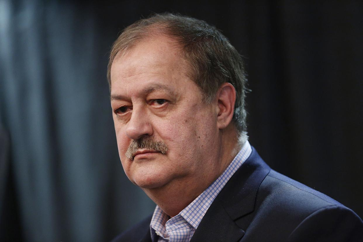 Don Blankenship, a former coal CEO turned Republican U.S. Senate candidate, is seen during a campaign event in West Virginia in February. (Photo: Bloomberg via Getty Images)