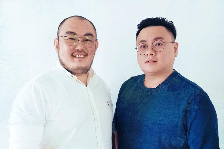 The duo behind Zi You Shi²: Melvin Wong (left) and Squall Chin (right).