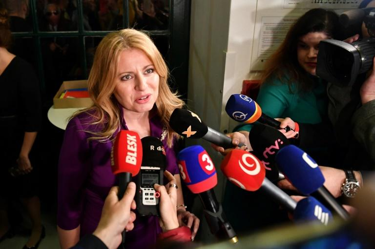 Slovakia votes in poll that could elect first female president