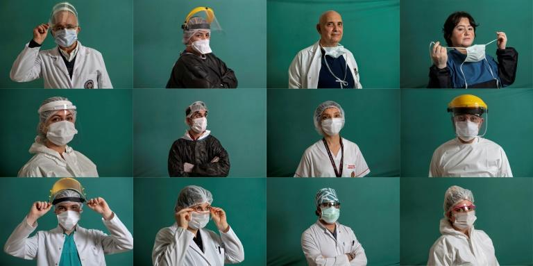 Turkey's medical teams have been on the frontline treating COVID-19 patients -- but the disease has been spreading, topping 34,000 cases and 725 deaths by Monday