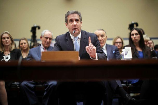 PHOTO: Michael Cohen, the former attorney, and fixer for President Donald Trump testifies before the House Oversight Committee on Capitol Hill, Feb. 27 2019, in Washington, D.C. (Chip Somodevilla/Getty Images)