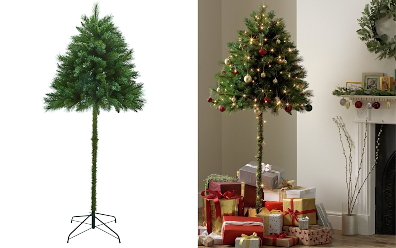 Argos is selling parasol Christmas trees this festive season designed for  families with curious children or cats [Photo: Argos] - Argos Launches Parasol Christmas Trees For Cats And Children