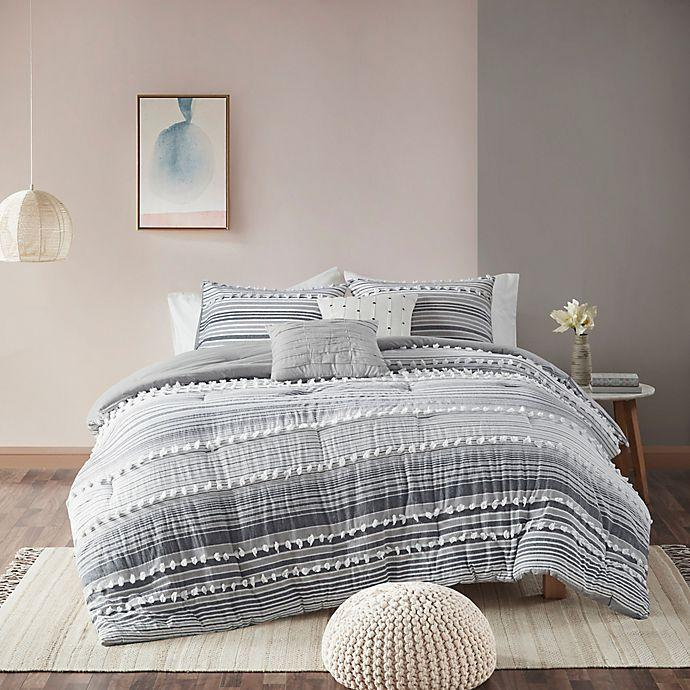 """<strong><h2>Bed Bath & Beyond</h2></strong><br><strong>Dates:</strong> Now - September 7<br><strong>Sale:</strong> 30% off select comforter sets<br><strong>Promo Code:</strong> None<br><br>You won't want to miss out on the variety of bedroom aesthetics available; from boho-chic to mid-century modern. <br><br><strong><a href=""""https://www.bedbathandbeyond.com/store/category/clearance-savings/bedding/13355/?skimoffer=skimusQ1"""" rel=""""nofollow noopener"""" target=""""_blank"""" data-ylk=""""slk:Shop Bed Bath & Beyond"""" class=""""link rapid-noclick-resp""""><em>Shop Bed Bath & Beyond</em></a></strong><br><br><strong>urban habitat</strong> Urban Habitat Calum Comforter Set, $, available at <a href=""""https://go.skimresources.com/?id=30283X879131&url=https%3A%2F%2Fwww.bedbathandbeyond.com%2Fstore%2Fproduct%2Furban-habitat-calum-comforter-set%2F5467652%3F"""" rel=""""nofollow noopener"""" target=""""_blank"""" data-ylk=""""slk:Bed Bath and Beyond"""" class=""""link rapid-noclick-resp"""">Bed Bath and Beyond</a>"""