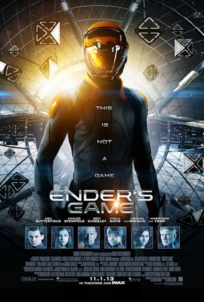New 'Ender's Game' Poster, Final Trailer Teaser Hits the Web (Video)