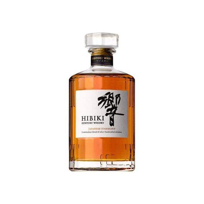 """<p><strong>Hibiki </strong></p><p>drizly.com</p><p><a href=""""https://go.redirectingat.com?id=74968X1596630&url=https%3A%2F%2Fdrizly.com%2Fliquor%2Fwhiskey%2Fjapanese-whisky%2Fhibiki-japanese-harmony-whisky%2Fp21294&sref=https%3A%2F%2Fwww.womenshealthmag.com%2Flife%2Fg32268112%2Fgifts-for-father-in-law%2F"""" rel=""""nofollow noopener"""" target=""""_blank"""" data-ylk=""""slk:Shop Now"""" class=""""link rapid-noclick-resp"""">Shop Now</a></p><p>Maybe this whisky won't last him years like other Father's Day gifts he can use again and again, but your father-in-law will certainly enjoy the orange, honey, and oak notes while he can. </p>"""