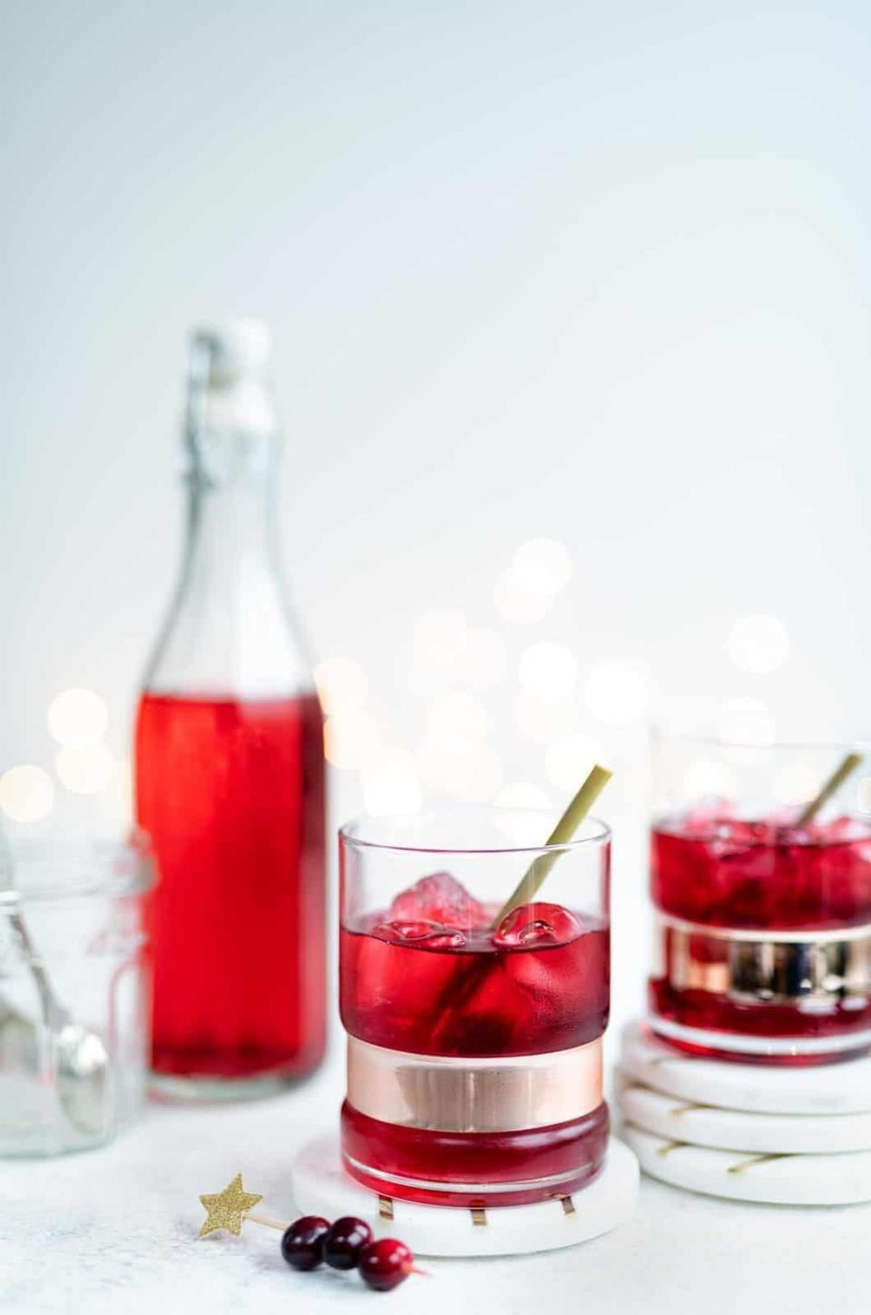"""<p>Far in distance but close in heart, Utah residents are craving the classic Cape Cod cocktail. Mix together muddled cranberries, simple syrup, and vodka, and sip on the cranberry drink of your dreams.</p> <p><strong>Get the recipe</strong>: <a href=""""https://www.popsugar.com/buy?url=https%3A%2F%2Fwww.supergoldenbakes.com%2Fcape-cod-drink%2F&p_name=Cape%20Cod&retailer=supergoldenbakes.com&evar1=yum%3Aus&evar9=47471653&evar98=https%3A%2F%2Fwww.popsugar.com%2Ffood%2Fphoto-gallery%2F47471653%2Fimage%2F47475202%2FUtah-Cape-Cod&list1=cocktails%2Cdrinks%2Calcohol%2Crecipes&prop13=api&pdata=1"""" class=""""link rapid-noclick-resp"""" rel=""""nofollow noopener"""" target=""""_blank"""" data-ylk=""""slk:Cape Cod"""">Cape Cod</a></p>"""