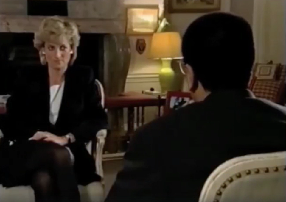 Diana opened up in a famous 1995 interview with Martin BashirBBC