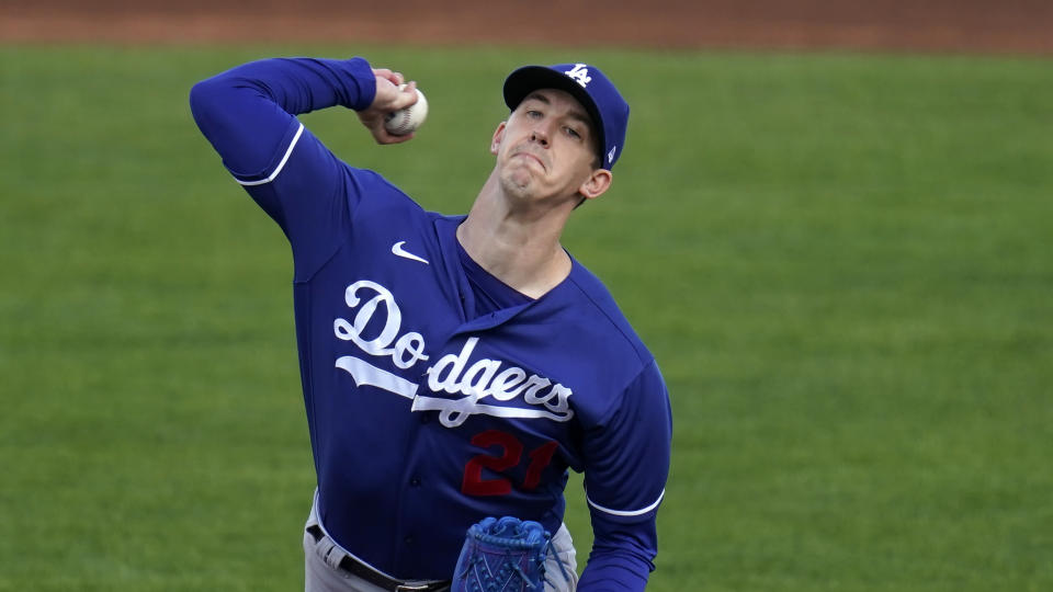 Los Angeles Dodgers starting pitcher Walker Buehler