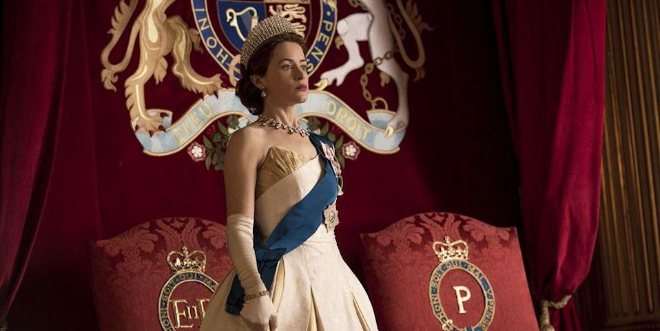 "<p>Even though Netflix is notoriously tight-lipped about viewing numbers, the streaming giant has described <em>The Crown</em> as ""very popular."" What's more, the <a href=""https://rts.org.uk/article/streaming-facts-fiction"" rel=""nofollow noopener"" target=""_blank"" data-ylk=""slk:Royal Television Society"" class=""link rapid-noclick-resp"">Royal Television Society</a> reported that in November and December 2016, nine percent of Netflix users watched <em>The Crown. </em>That may not seem like a lot, but to put the number in perspective, that means it beat out hits like <em>Breaking Bad</em>, <em>Orange Is the New Black,</em> and <em>Gilmore Girls</em>.</p>"