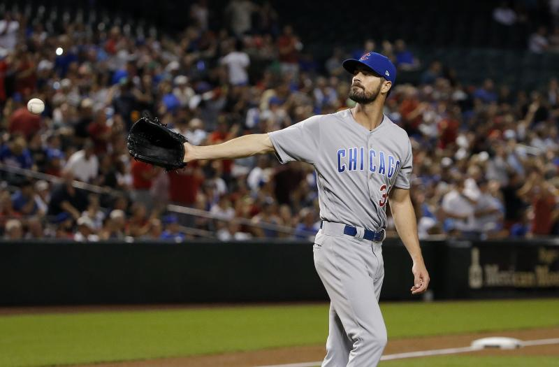 Cubs exercise option on Cole Hamels, trade Drew Smyly to Texas