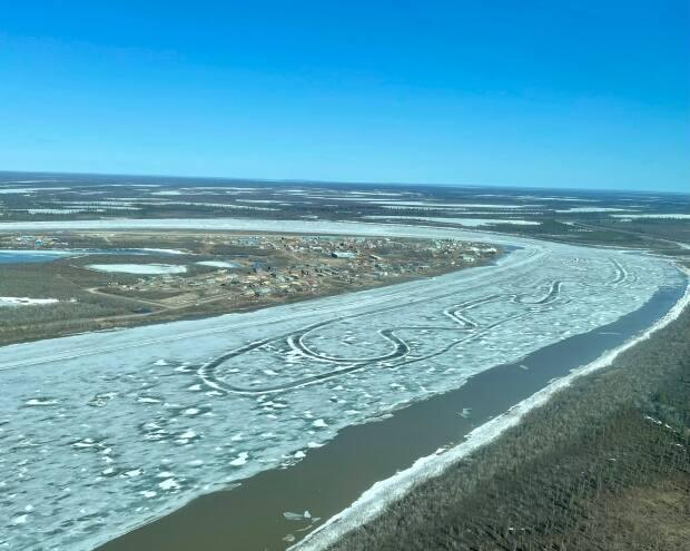 The Hamlet of Aklavik rests on the west side of a bend in the Peel Channel in the Inuvik region of the N.W.T.