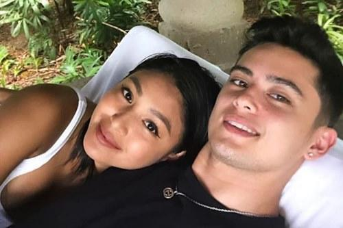 Nadine previously dated on-screen partner, James Reid