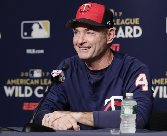 Manager Paul Molitor is staying with the Twins for three more seasons, the club announced Monday. (AP)