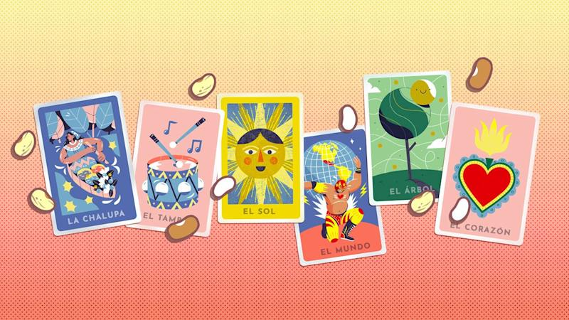 Today's interactive game Doodle celebrates the traditional Mexican card game, Lotería!