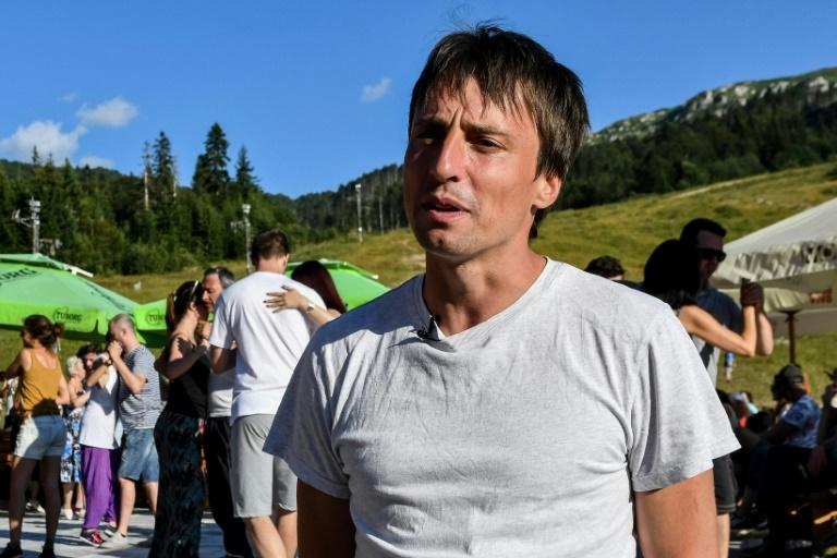 Montenegrin Darko Dozic, 36, brought the Latin dance to his hometown to help cure the depressed mood of many of his childhood friends due to Montenegro's economic doldrums
