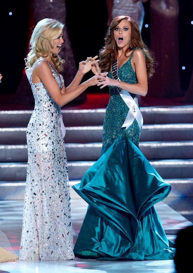 The 2011 Miss USA Pageant came down to a battle between two best friends, but 21-year-old Miss California Alyssa Campanella beat her blonde gal pal Ashley Durham from Tennessee to become the new Miss USA. Are the two beauty queens still BFFs?