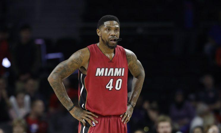 Udonis Haslem has played 14 seasons with the Heat. (AP)