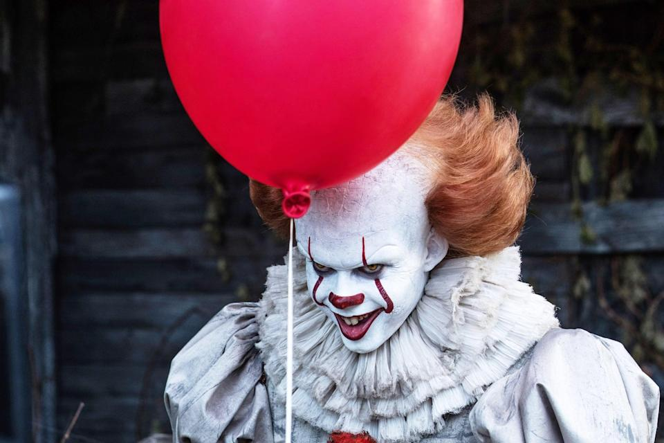 """<p>In the grand scheme of scary King adaptations, <strong>It</strong> is definitely unnerving, but it's not quite as scary as the other films on this list. The story works best as a coming-of-age tale for the Losers' Club, but it's not without its creepy moments. Seeing Bill Skarsgård in full Pennywise makeup for the first time kicks the film off with a haunting start, and watching him lure little Georgie into his trap is the stuff of nightmares. But the movie's biggest fright comes later when Pennywise manifests as Georgie in his big brother Bill's basement in order to taunt the older child with the chilling refrain, """"You'll float, too."""" </p> <p>Ultimately, <strong>It</strong>'s fear factor comes from just how personal the terror is for the children in the film, and how helpless the audience feels while watching them fight against the human and demonic evils plaguing their small town.</p>"""
