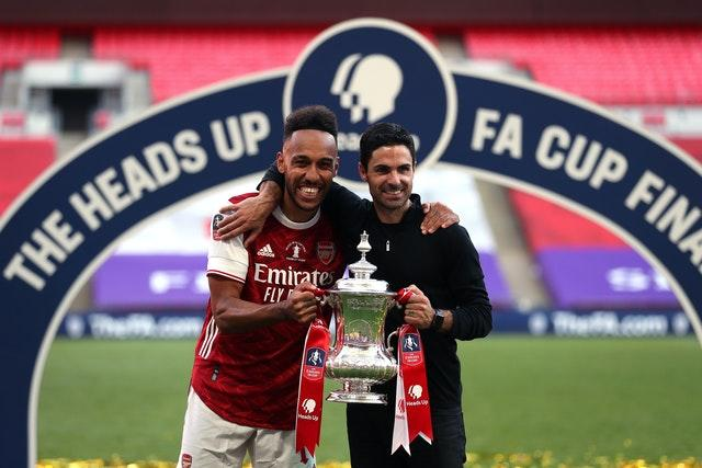 Aubameyang and Arteta have enjoyed a good relationship since the latter was appointed in December.