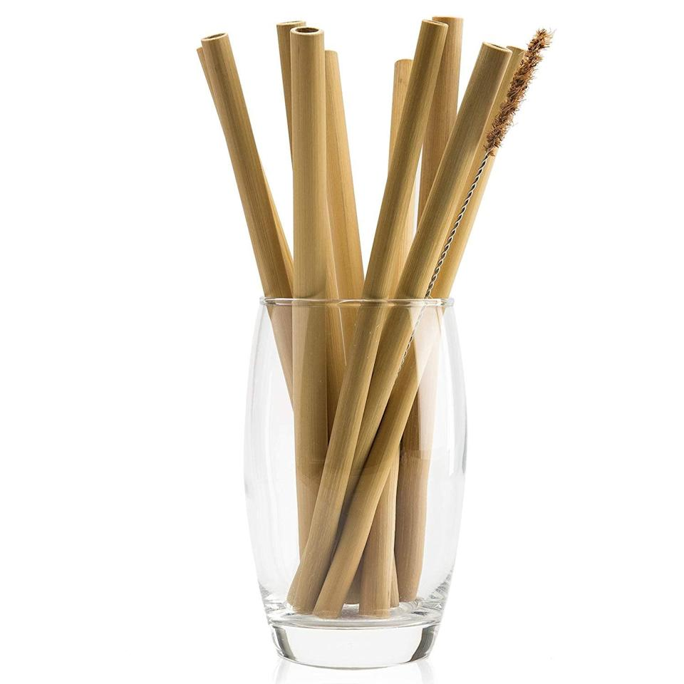 <p>These <span>Organic Bamboo Straws With Coconut Fiber Brush</span> ($7 for 10) are another really easy way to enjoy your drink.</p>