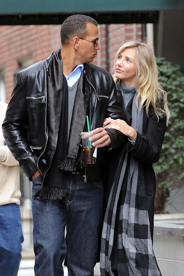 Next batter up! Cameron Diaz has been on the prowl for a new man since she and New York Yankees player Alex Rodriguez split for a second time in September after dating for a year. Rumor has it that lately the blond beauty has been hooking up with P. Diddy.