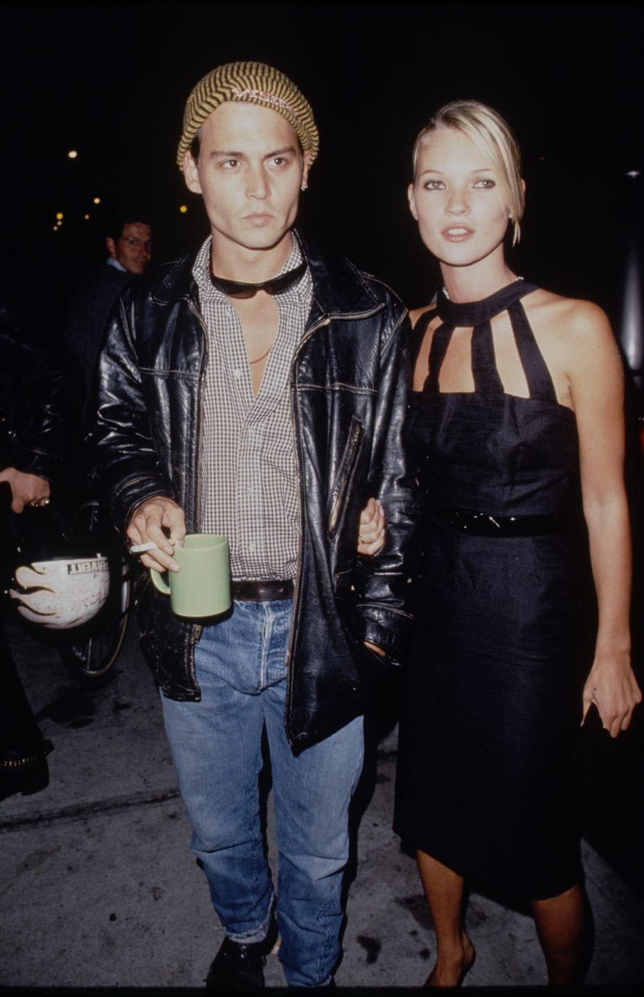 <p>In addition to choker necklaces, there were choker dresses. The neck was clearly having a major moment in the '90s. </p>