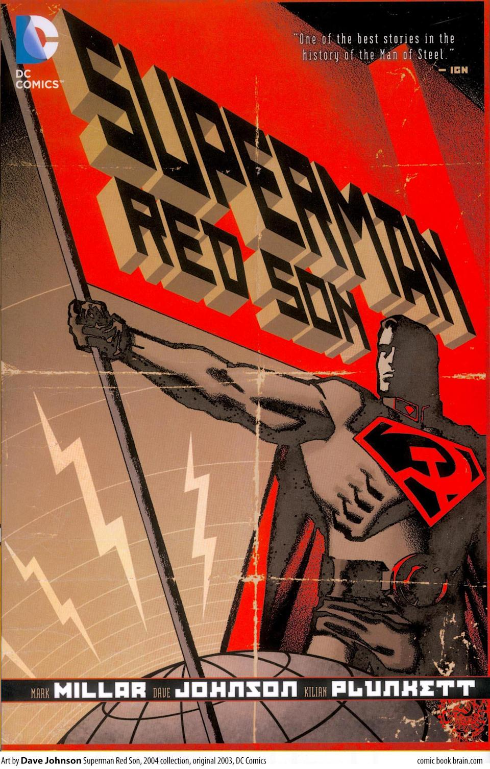 Millar's 'Superman: Red Son' was his most famous DC Comics title