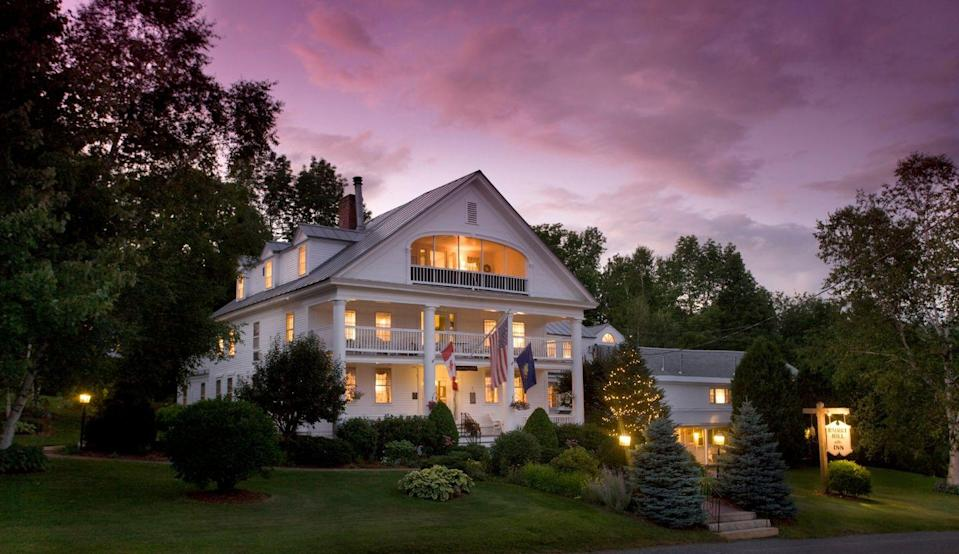 "<p>This prestigious bed and breakfast is one of the most highly awarded properties on this list, most recently snagging the #39 spot on<em> Travel + Leisure'</em>s list of the best resort hotels in the world in 2020. Just a few moments at the 18th-century estate seated on the border of Vermont and New Hampshire's White Mountains will show you why.</p><p>Somehow, <a href=""https://www.rabbithillinn.com/"" rel=""nofollow noopener"" target=""_blank"" data-ylk=""slk:Rabbit Hill Inn"" class=""link rapid-noclick-resp"">Rabbit Hill Inn</a> is as majestic inside as it is on the exterior. Every one of the 19 guest rooms is uniquely different—one featuring Art Deco and the other traditional—and many have luxe amenities, like whirlpool tubs and private porches. Guests can also enjoy Four Diamond dining from the comfort of the inn, with farm-to-table cuisine at your fingertips. Plus, there are complimentary pastries served every afternoon to enjoy after a scenic hike or enjoying a book by the fire.</p>"