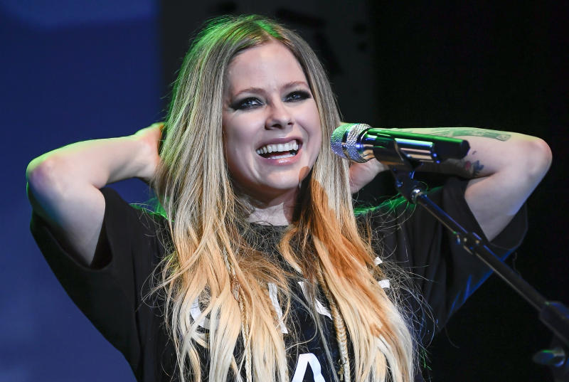 NAPA, CA - NOVEMBER 01: Singer Avril Lavigne performs on Day 2 of Live In The Vineyard at the Uptown Theatre Napa on November 1, 2019 in Napa, California. (Photo by Steve Jennings/WireImage)
