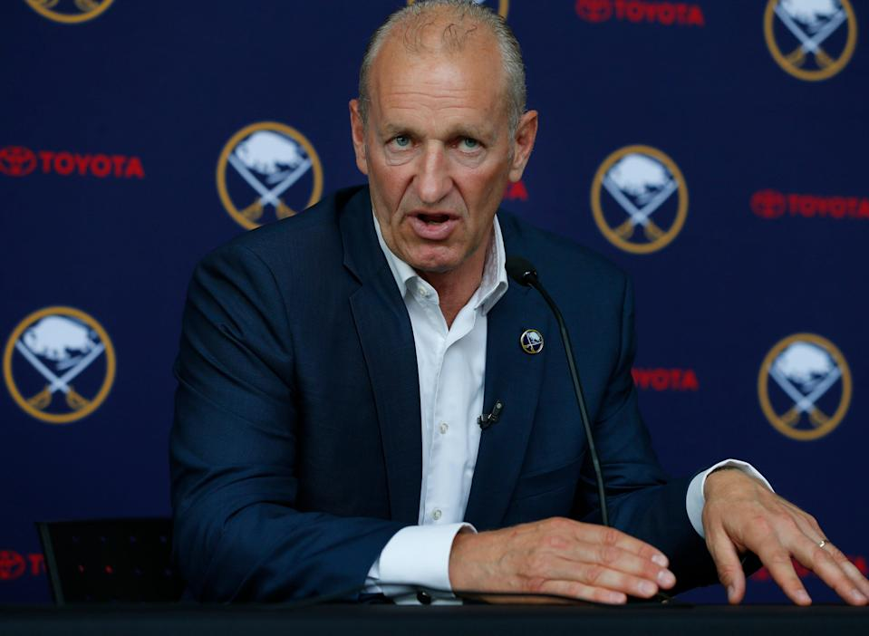 Ralph Krueger led the Sabres to a 30-31-8 record last season.