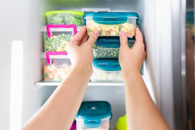 There are some freezer rules about where to put everything. (Getty Images)