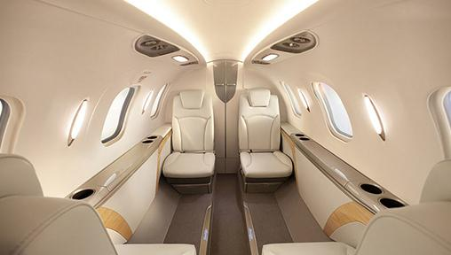 Inside the World's Most Advanced Private Light Jet