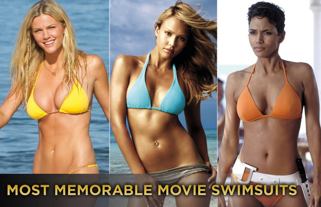 "<p class=""MsoPlainText""><span>Spring break is here. It's time to slip into that teeny-weenie yellow polka-dotted bikini and hit the sand and waves. In honor of that, we've put together this groovy gallery of some of the most memorable movie swimsuits. Get the sun block and check it out.</span></p>"